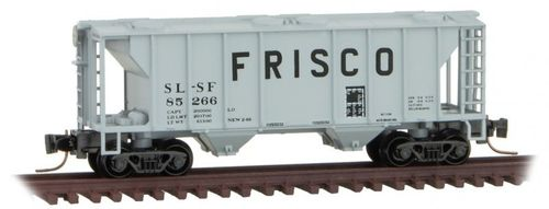 Frisco PS-2 Two-Bay Covered Hopper #SL-SF 85266
