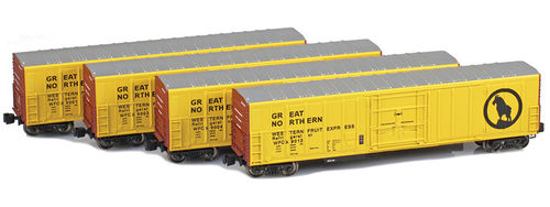 Reefer R-70-20 Great Northern 4pck.