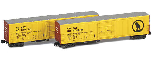 Reefer R-70-20 Great Northern 2pck.